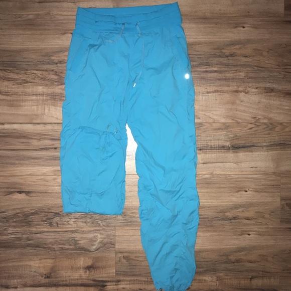 651088175d2066 lululemon athletica Pants | Blue Lululemon Studio | Poshmark